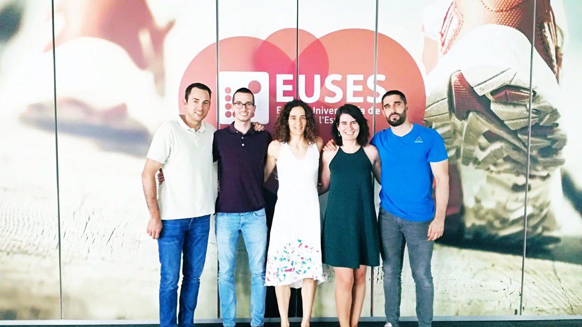 La Dra. Carol Sitges y Joan Segur visitan EUSES para dar a conocer el proyecto LoLA