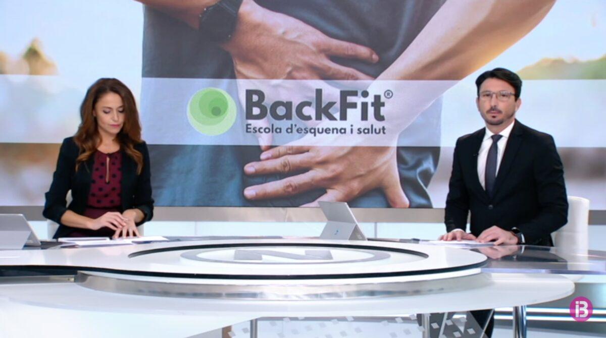 El proyecto LoLA y la app Backfit son noticia en los informativos de IB3 TV